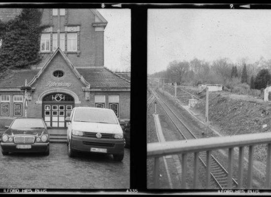 Bahnhof Rübenkamp in Hamburg