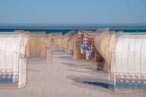Strandkörbe am Strand von Grömitz