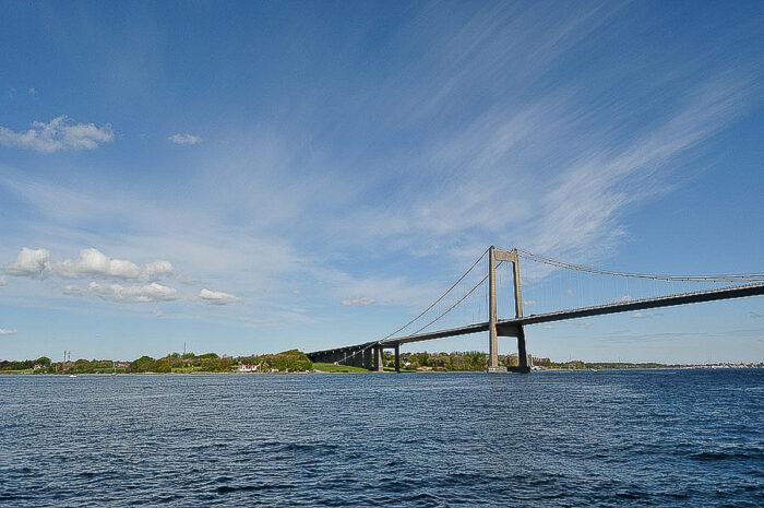 Brücke bei Middelfart in Dänemark über dem Kleinen Belt